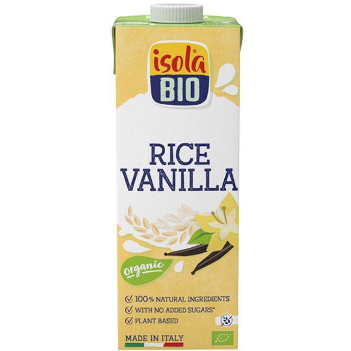 Био оризова напитка - ванилия 1л