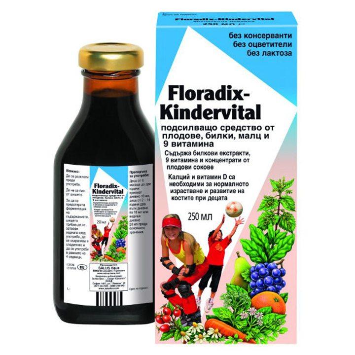 Флорадикс сироп за деца 250мл