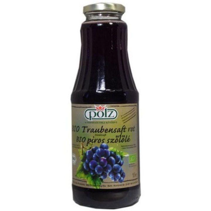 Био сок от червено грозде 1л