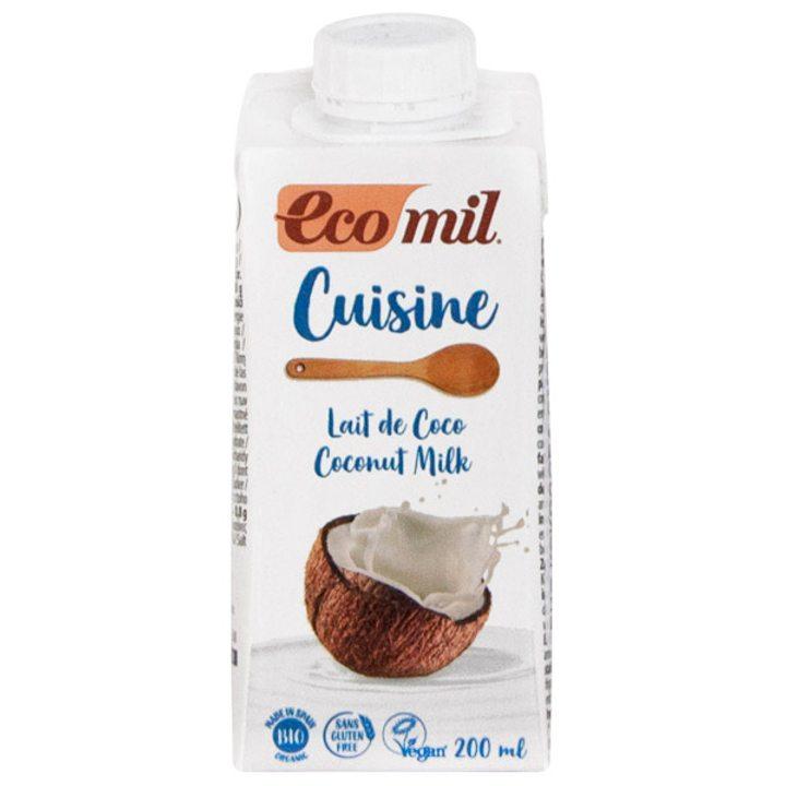 Био кокосова сметана за готвене 200мл