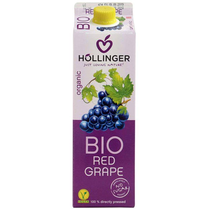 Био сок червено грозде 1л
