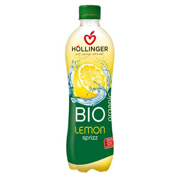 Био газирана напитка лимон 500мл