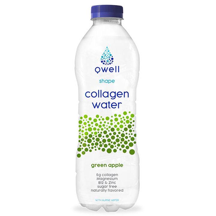 Qwell вода с колаген Shape 500мл