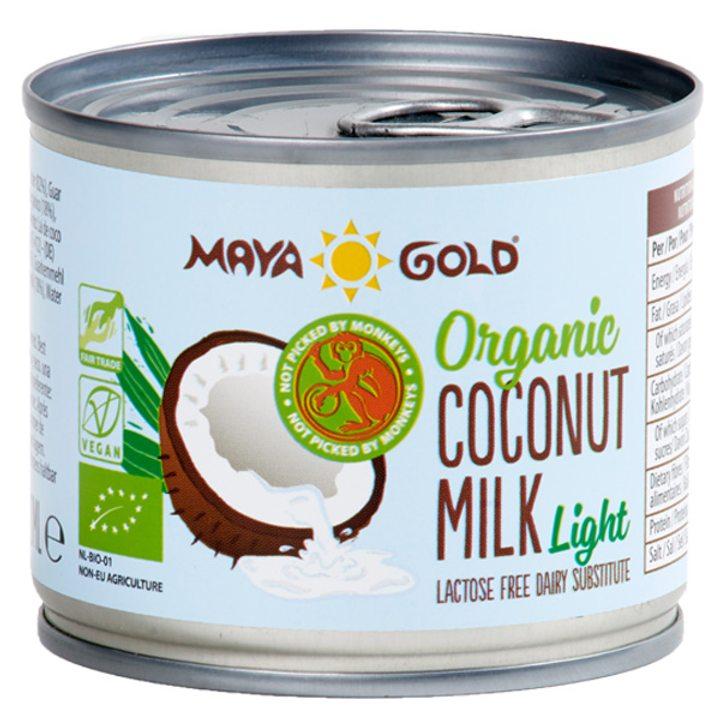 Био кокосово мляко 6% масленост 200мл