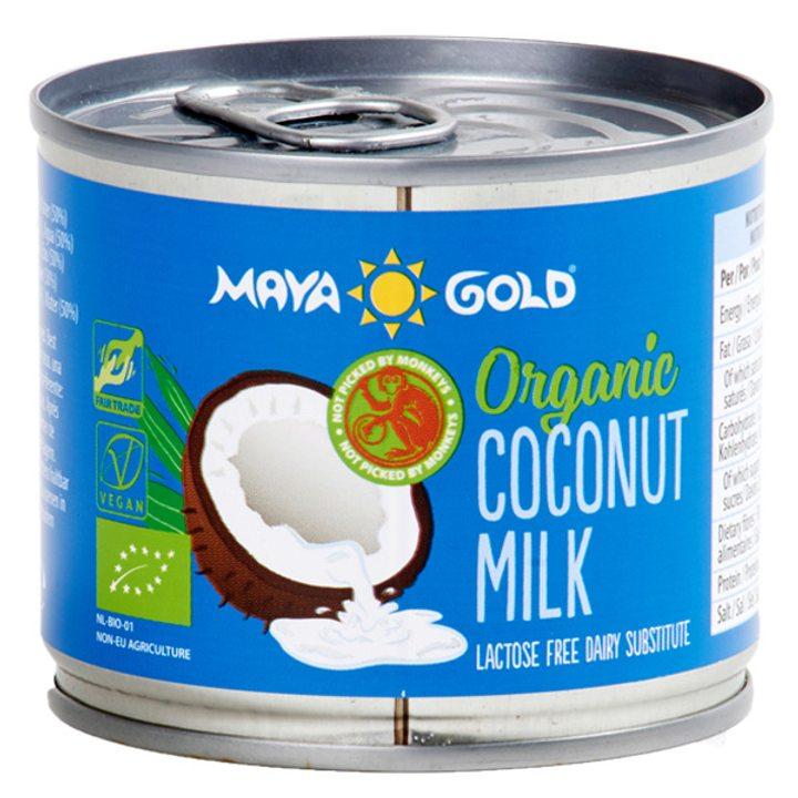 Био кокосово мляко 17% масленост 200мл