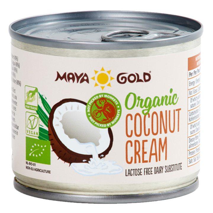 Био кокосов крем 22% масленост 200мл