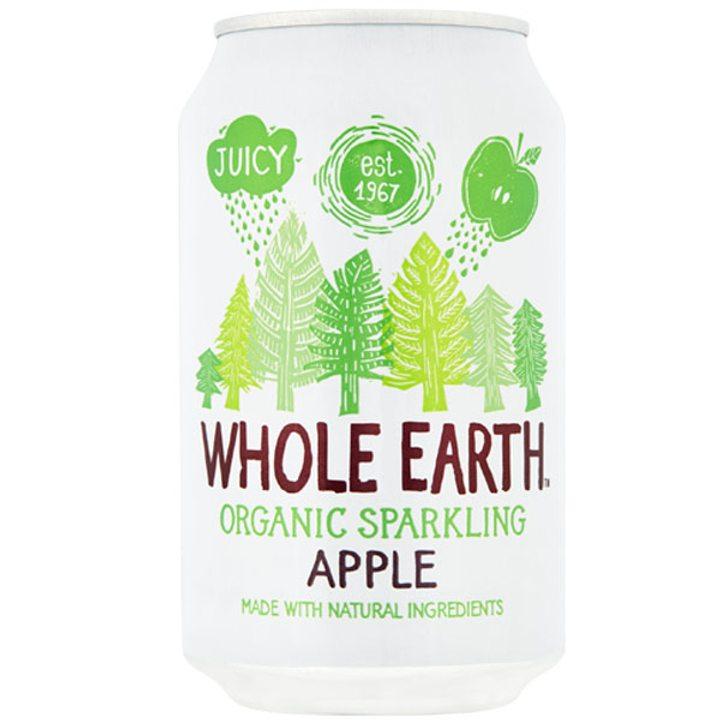 Био газирана напитка ябълка 330мл