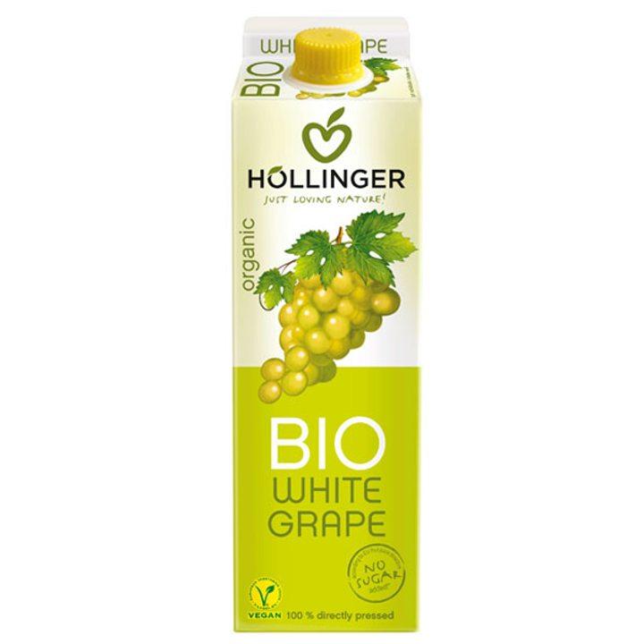 Био сок от бяло грозде 1л