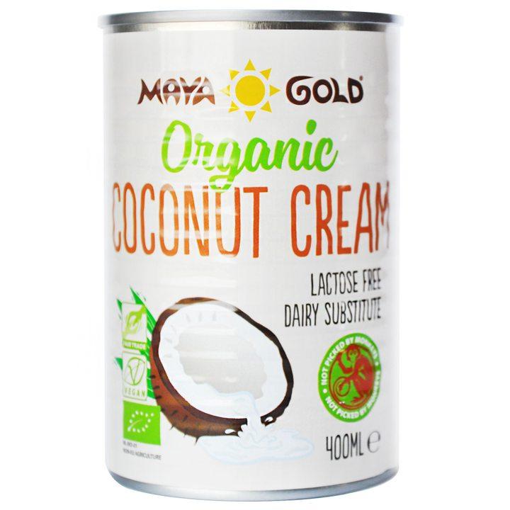 Био кокосов крем 22% масленост 400мл