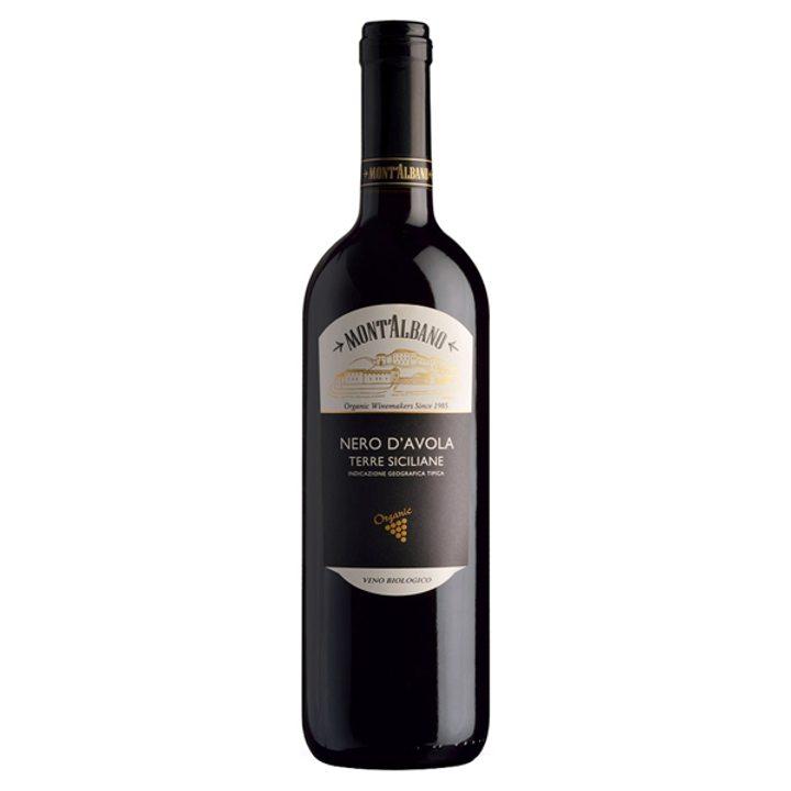 Био вино Неро Авола 750мл