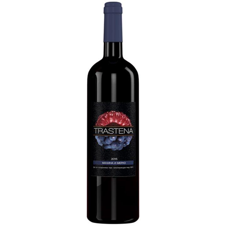 Вино малина и мерло 750мл