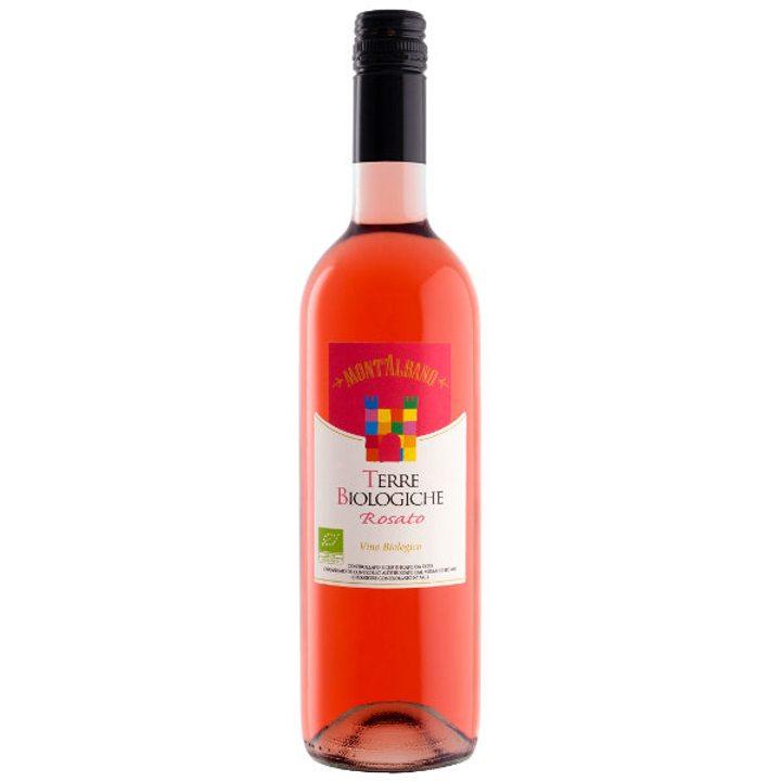 Био сухо вино розе Terre Biologiche 750мл