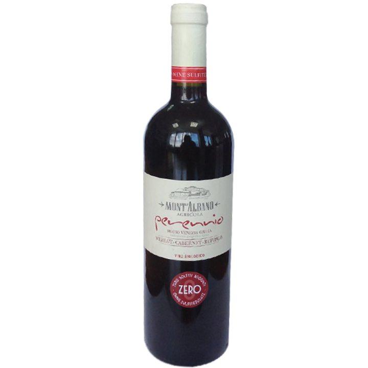 Био вино Мерло - Каберне - Рефоско 750мл