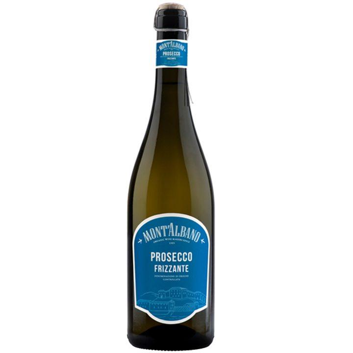 Био бяло пенливо вино Просеко DOC 750мл