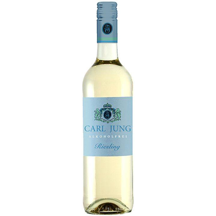 Безалкохолно бяло вино Ризлинг 750мл Карл Юнг