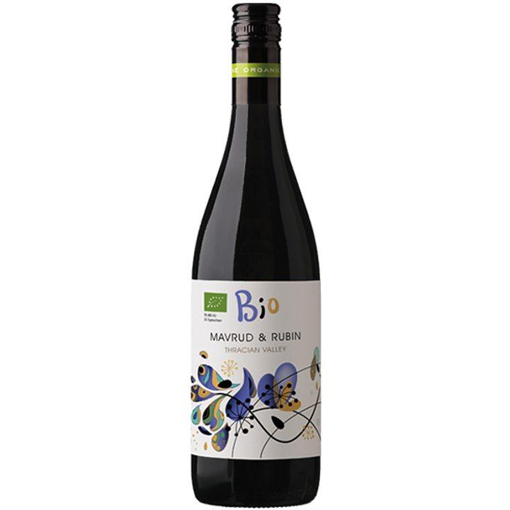 Био вино Mavrud & Rubin 750мл