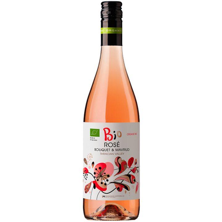 Био вино Розе Bouquet&Mavrud 750мл