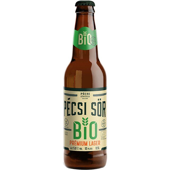 Био бира лагер премиум без глутен бутилка 500мл