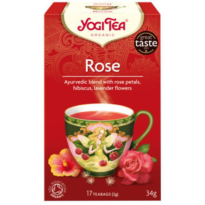 Био чай Йоги роза