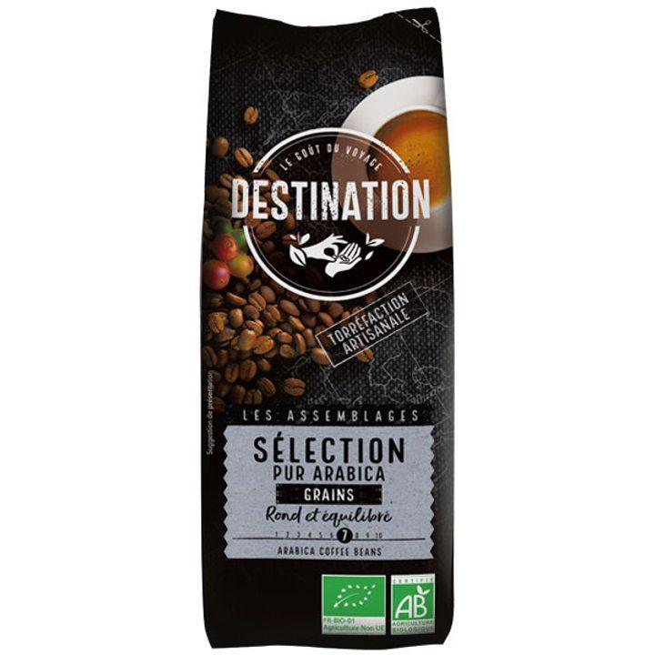 Био кафе на зърна 100% Арабика селекция 250г