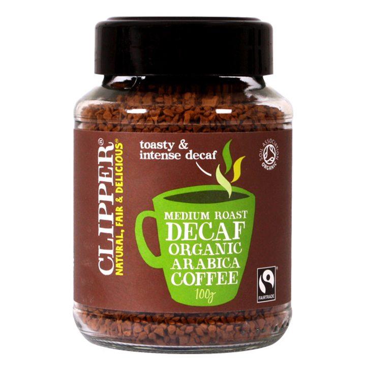 Био разтворимо кафе Арабика без кофеин 100г