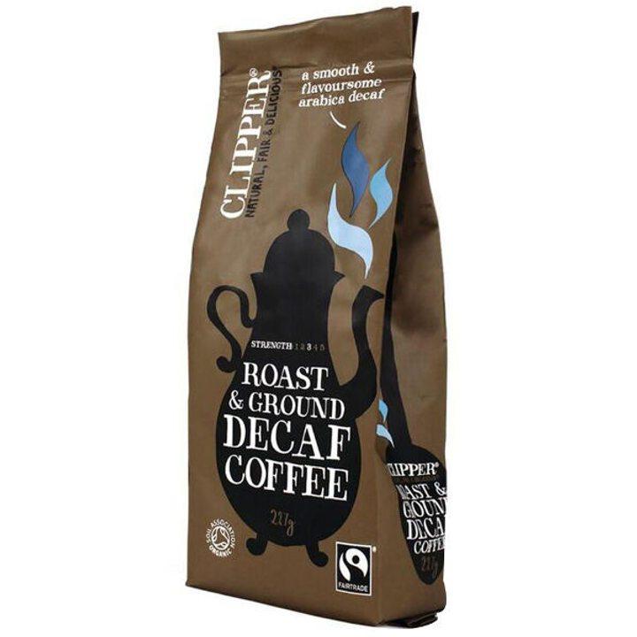 Био безкофеиново кафе печено и смляно 227г
