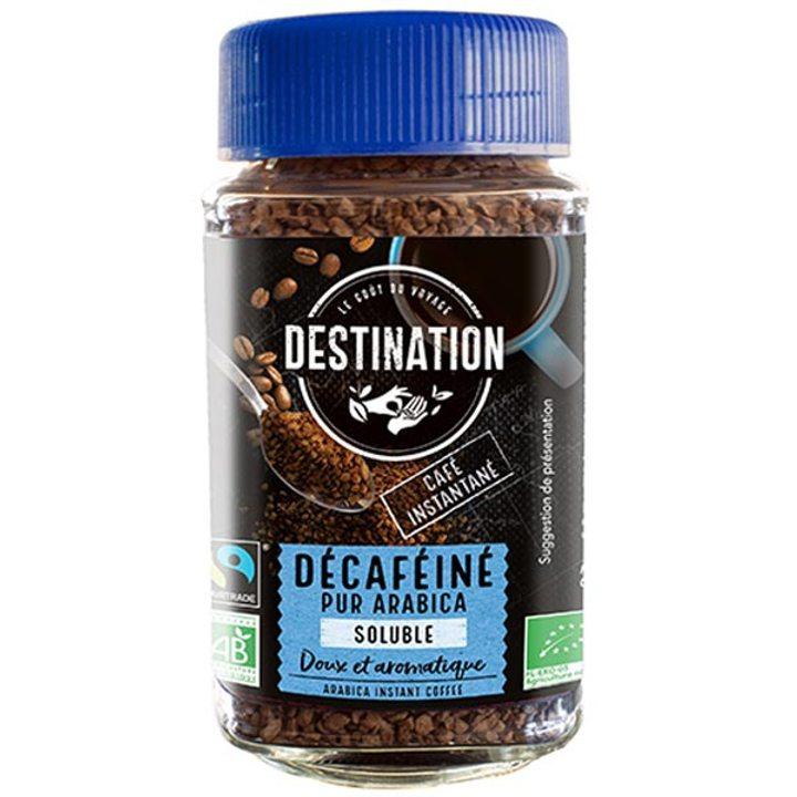 Био кафе разтворимо безкофеиново 100% Арабика 100г