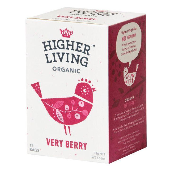 Био чай Хибискус и горски плодове 33g