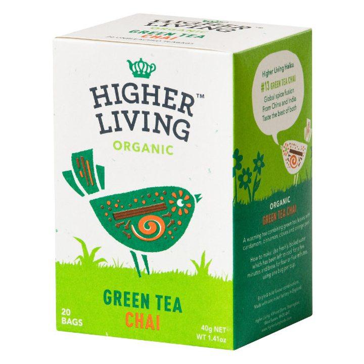 Био пикантен зелен чай 20 бр., 40г