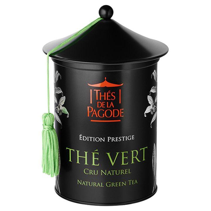 Био зелен чай натурален - метална кутия 100г