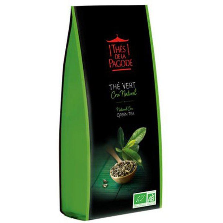 Био зелен чай натурален Кру 100г
