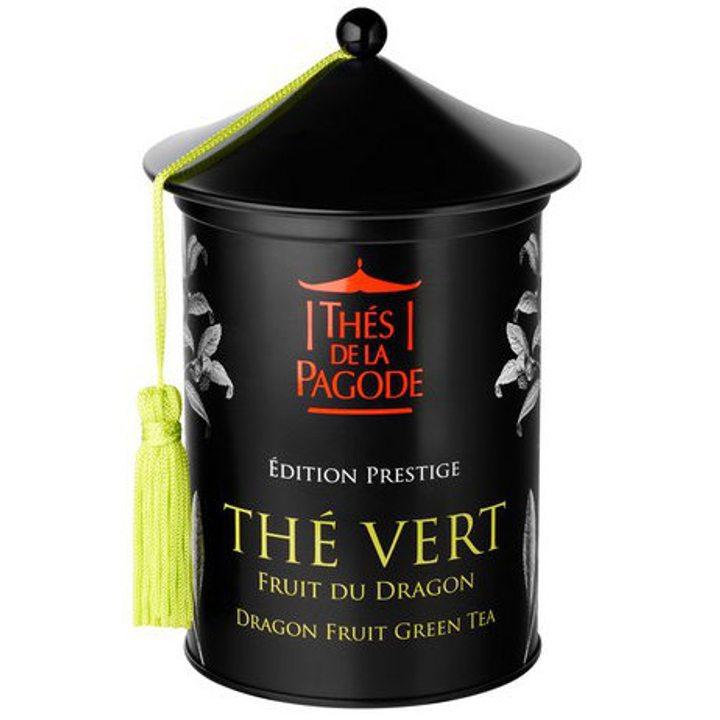 Био зелен чай с драконов плод - метална кутия 100г