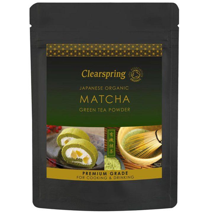 Био зелен чай Матча 40г