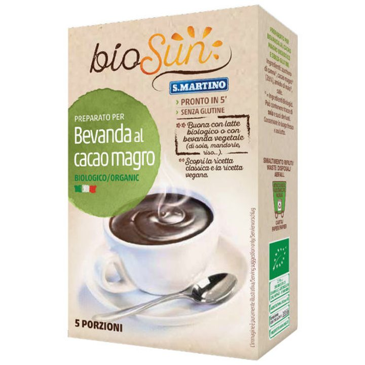 Био смес за какаова напитка 125g (5х25g)