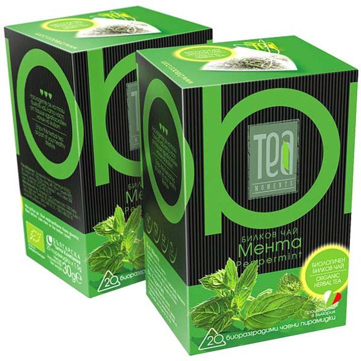 Био билков чай мента 30г