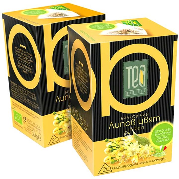 Био билков чай липов цвят 30г