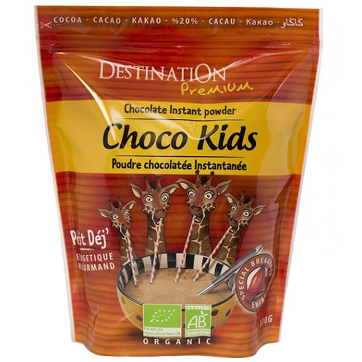 Био разтворима шоколадова напитка за деца 800г
