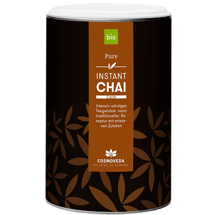 Био разтворима напитка чай лате с черен чай 200г