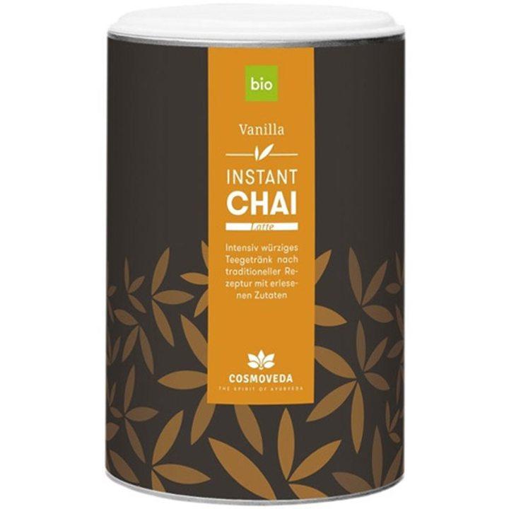 Био разтворима напитка чай лате с ванилия 200г