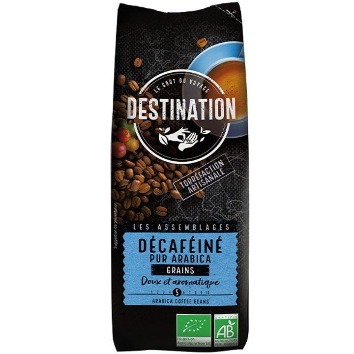 Био кафе на зърна безкофеиново 100% Арабика 250г