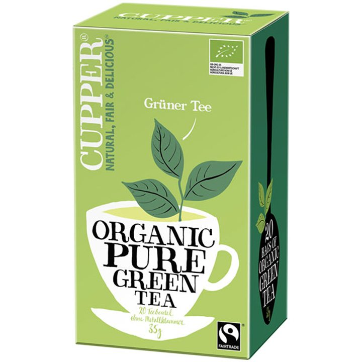 Био зелен чай 35г