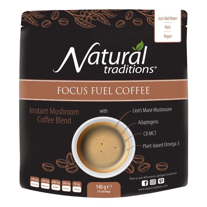Разтворимо кафе с гъба лъвска грива 140г