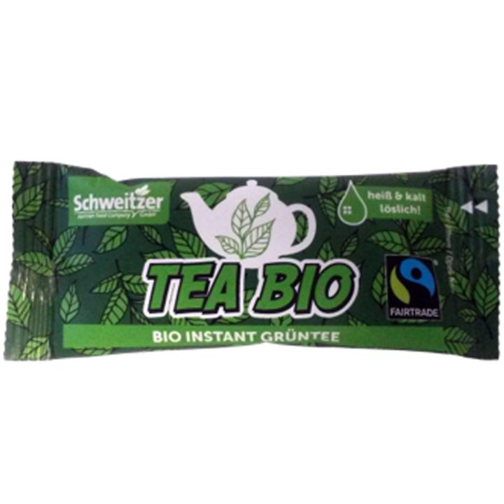 Био разтворим зелен чай 8г