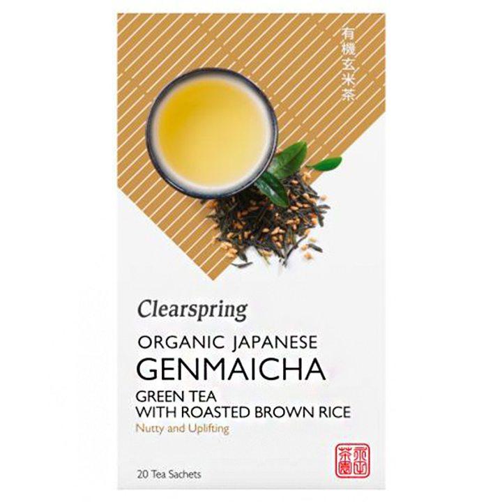 Био японски зелен чай Генмайча 36г (20 x 1,8г)