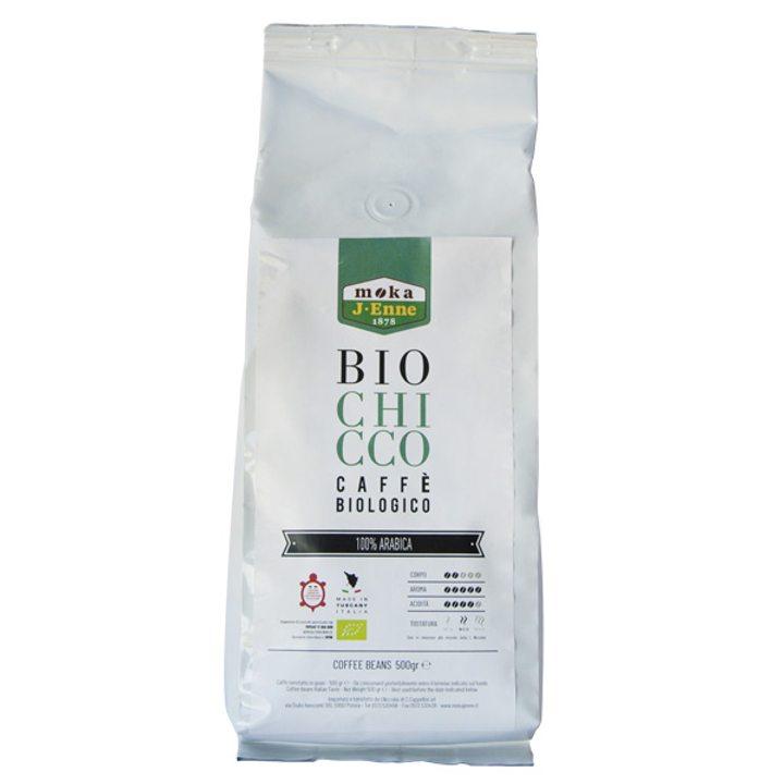 Био кафе на зърна 100% Арабика 500г
