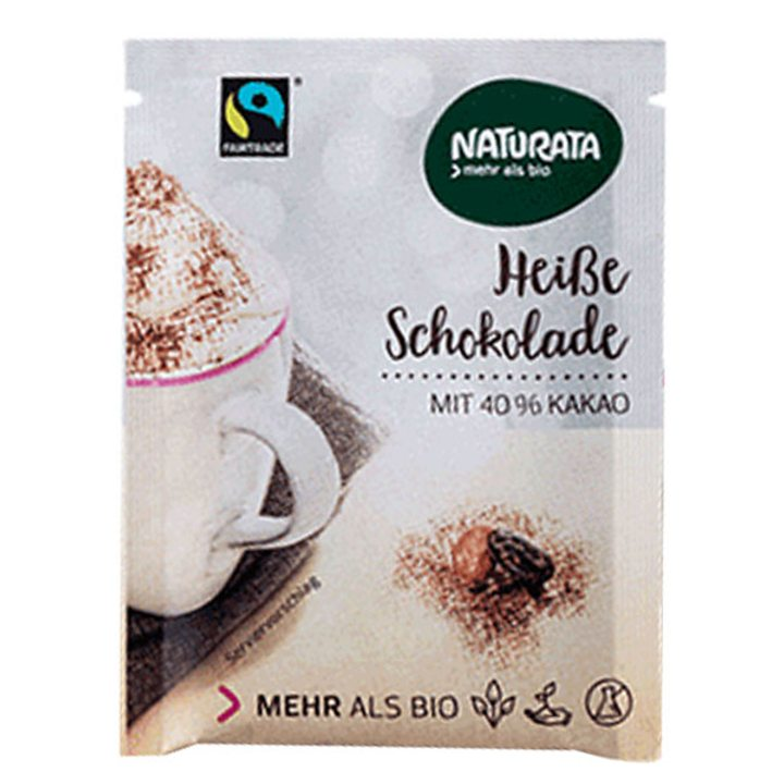 Био шоколадова напитка на прах 10г