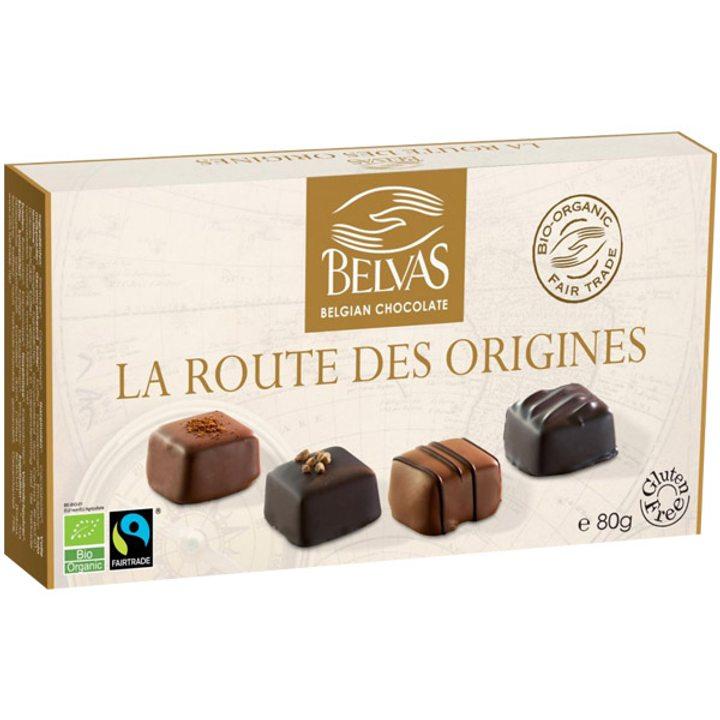 Био шоколадови бонбони асорти 80г