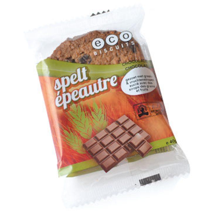 Био спелтова бисквита с шоколад 40г