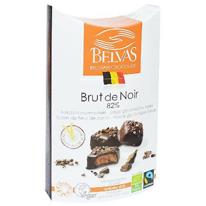 Био шоколадови бонбони с кокосова захар 100г