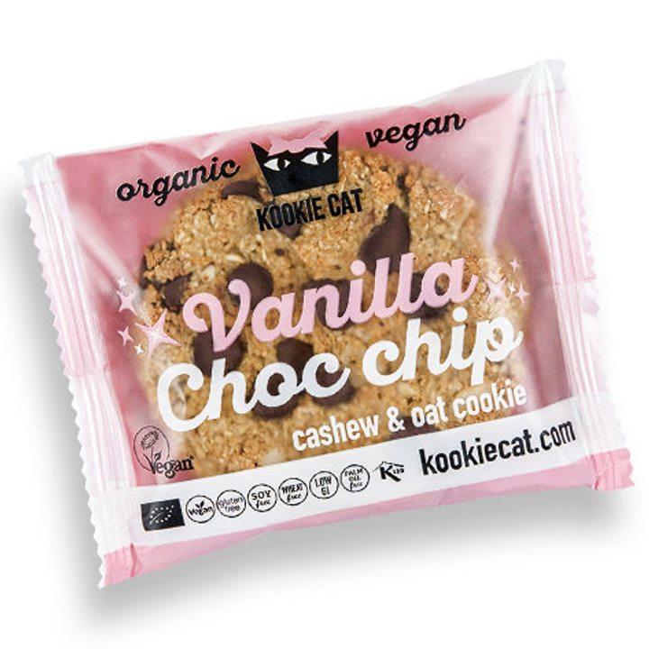 Био веган курабийка с шоколадови парченца и ванилия 50г